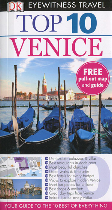 DK Eyewitness Top 10 Travel Guide: Venice зонт doppler 740765f
