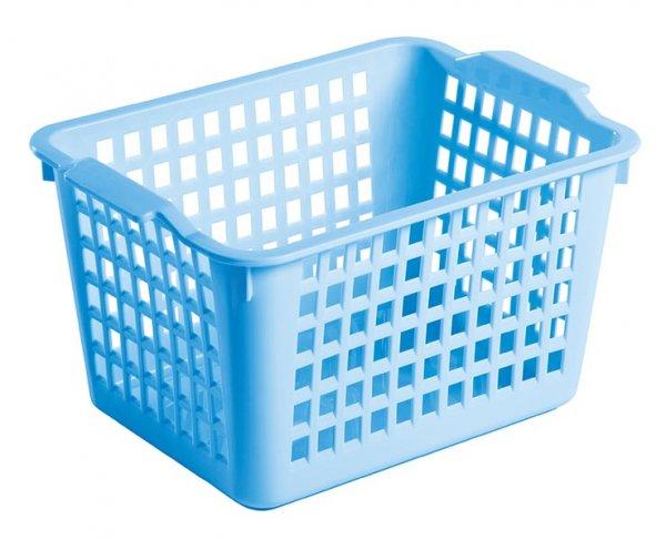 """Универсальная корзинка """"Econova"""" изготовлена из высококачественного пластика с перфорированными стенками и сплошным дном. Такая корзинка непременно пригодится в быту, в ней можно хранить кухонные принадлежности, аксессуары для ванной и другие бытовые предметы, диски и канцелярию.Корзинка """"Econova"""" позволит вам хранить вещи компактно и с удобством."""
