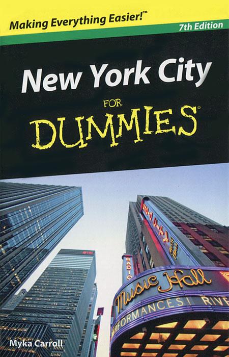 New York City: For Dummies see inside new york city