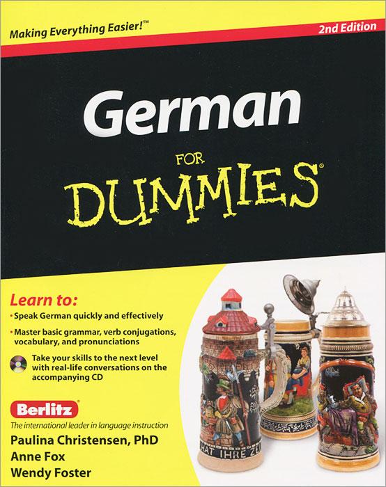 German for Dummies (+ CD) anne fox german for dummies enhanced edition