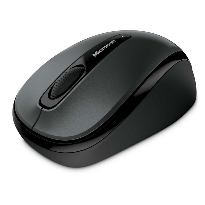 Microsoft Wireless Mobile Mouse 3500, Black беспроводная оптическая мышь (GMF-00292) hp x900 wired mouse black ð¼ñ‹ñˆñŒ