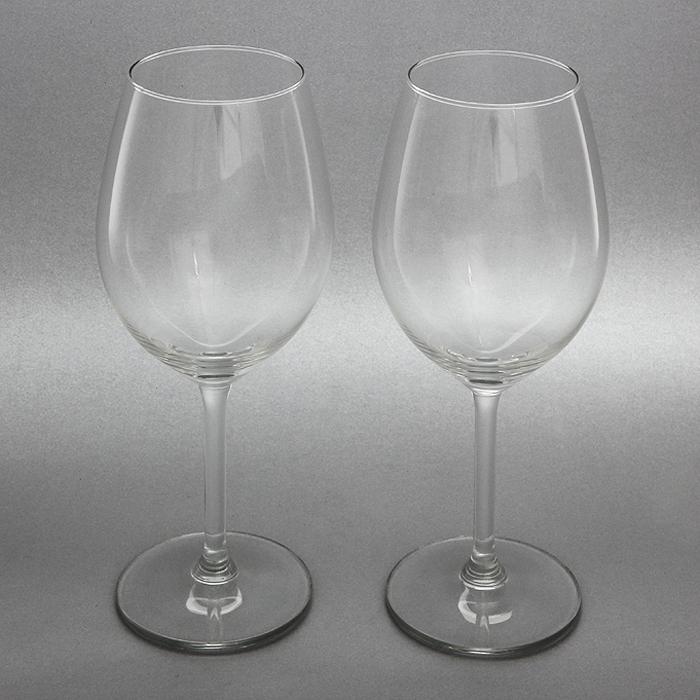 Набор бокалов для красного вина VacuVin, 530 мл, 2 шт синие бокалы