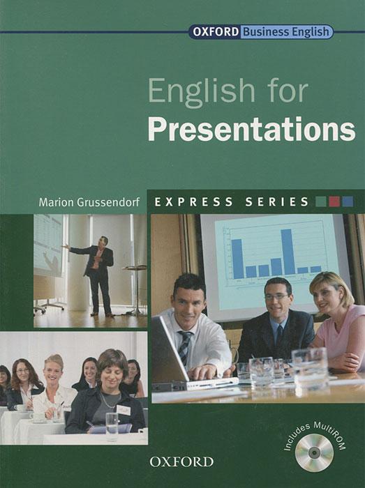 English for Presentations (+ CD-ROM) халилова л english for studens of economics учебник англ языка для студентов эконом специальностей