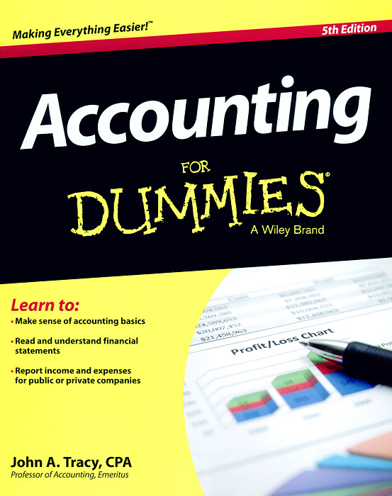 Accounting for Dummies admin manage