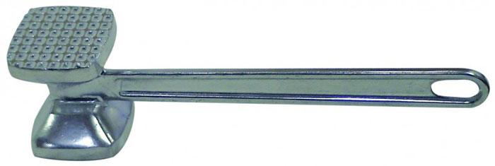 Молоток для мяса Regent Inox, алюминиевый93-AC-PR-08Молоток для мяса Regent Inox поможет вам без труда отбить мясо и приготовить его мягким, сочным и вкусным. Рабочая поверхность, выполненная из аллюминия, имеет две стороны: с гладкой поверхностью и с мелкими зубцами. На ручке молотка имеется специальное отверстие, за которое Вы можете подвесить его в удобное для вас место. Характеристики:Материал: аллюминий. Цвет: серебристый. Длина молотка: 25,5 см. Размер рабочей поверхности: 7 см х 7 см. Размер упаковки: 28 см х 14 см х 7,5 см. Артикул: 93-AC-PR-08.