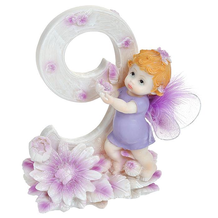 Статуэтка Именинный ангелочек. 9 лет статуэтка кролик 30 х 20 х 29 см