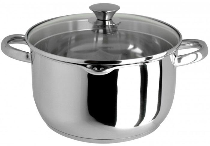 Кастрюля Cucina, с крышкой, 6 л сковорода cucina 3500 axentia 24 см