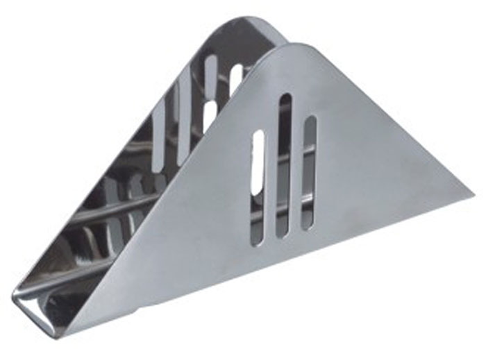 Подставка для салфеток Desco93-DE-ZU-07Подставка для салфеток Linea Desco, выполненная из экологически чистой пищевой стали с зеркальной полировкой, прекрасно подойдет для вашей кухни. Оригинальность оформления придется по вкусу и ценителям классики, и тем, кто предпочитает утонченность и изысканность. Подставка для салфеток Linea Desco отличается устойчивостью и простотой в использовании. Характеристики: Материал: нержавеющая сталь. Размер: 16,5 см х 11 см х 11 см. Ширина подставки: 3 см. Размер упаковки: 17 см х 7,5 см х 3,5 см. Производитель:Италия. Артикул: 93-DE-ZU-07.