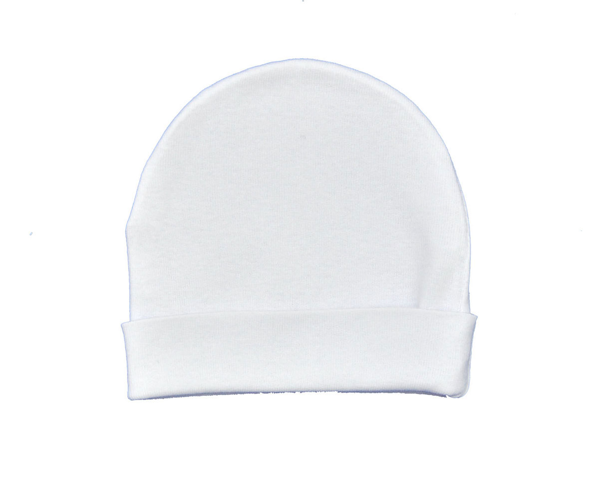 Шапочка унисекс Трон-Плюс, цвет: белый. 6312. Размер 68, 6 месяцев