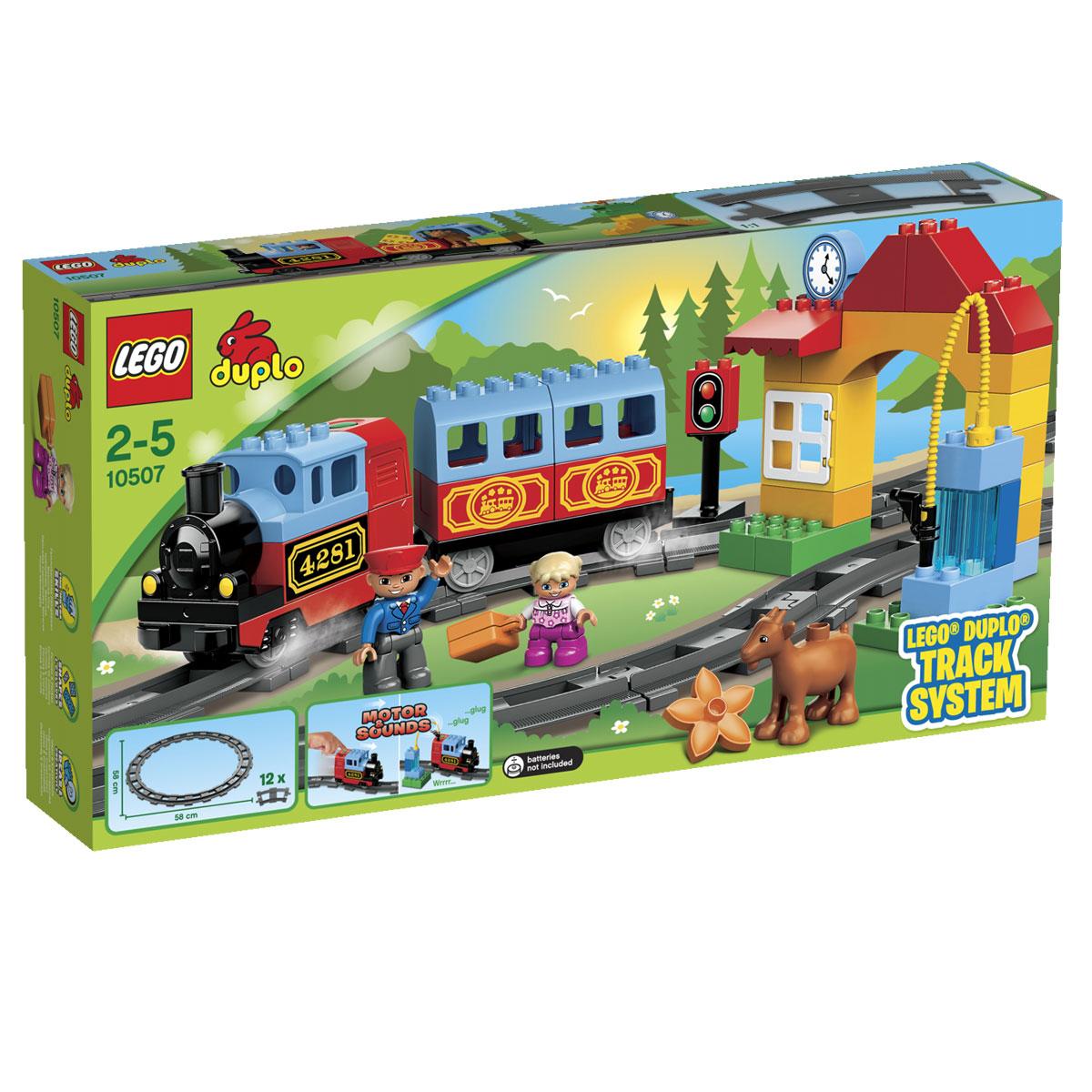 LEGO DUPLO Конструктор Мой первый поезд 10507 - Игрушки для малышей