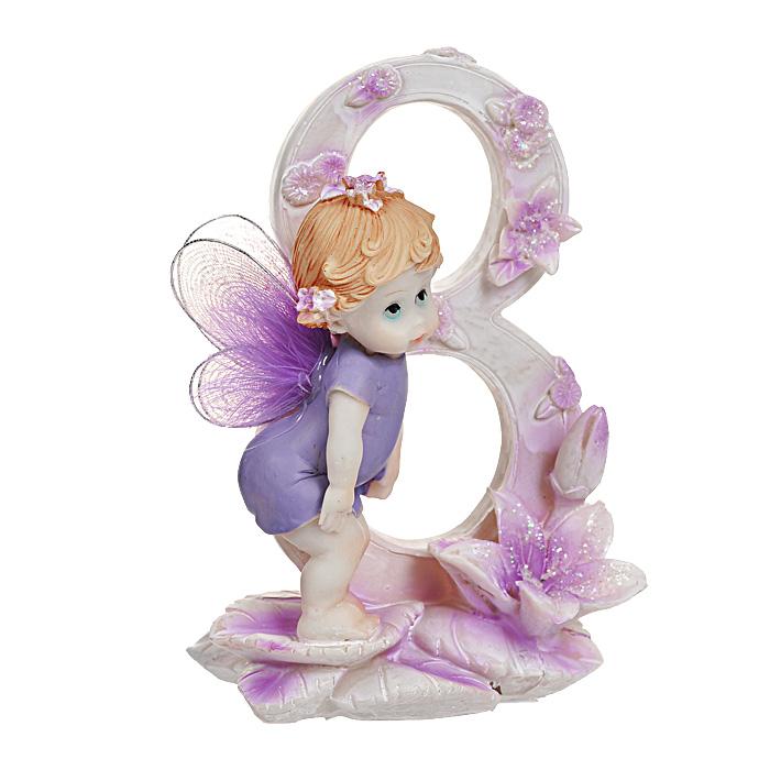 Статуэтка Именинный ангелочек. 8 лет514-1033Статуэтка Именинный ангелочек. 8 лет, выполненная из полистоуна, станет отличным подарком для вашего малыша! Все мы знаем, как порой непросто бывает выбрать подходящий подарок к тому или иному торжеству, а декоративные статуэтки Molento всегда были и останутся оригинальным подарком. Этот вид сувенира нельзя назвать бесполезной вещью. Статуэтка может стать великолепным украшением интерьера. На протяжении долгих лет, дизайнеры используют статуэтки для придания интерьеру особого шарма. Характеристики:Материал: полистоун. Размер статуэтки: 9,5 см х 6 см х 12 см. Размер упаковки: 10 см х 7,5 см х 13 см. Артикул: 514-1033.