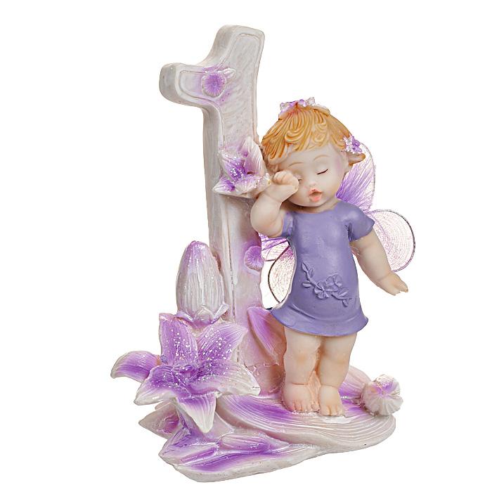 Статуэтка Именинный ангелочек. 1 год статуэтки parastone статуэтка пожарный