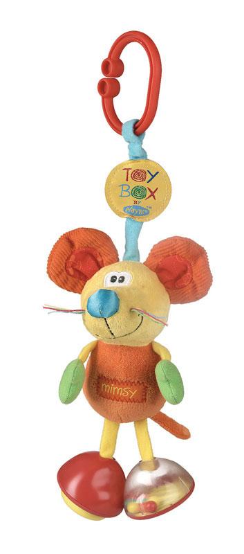 Playgro Игрушка-подвеска Мышка мягкие игрушки playgro игрушка инерционная мышка