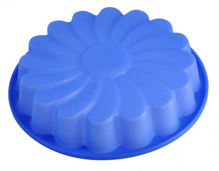 Форма для выпечки и заморозки Regent Inox Хризантема, силиконовая, цвет: синий, 24 см х 24 см х 4 см93-SI-FO-14Силиконовая форма для выпечки и заморозки продуктов предназначена для изготовления желе, льда, выпечки и т.д. Оригинальный способ подачи изделий не оставит равнодушным родных и друзей. Силиконовые формы Regent Inox Silicone выдерживают высокие и низкие температуры (от - 40 до + 230 градусов). Они эластичны, износостойки, легко моются, не горят и не тлеют, не впитывают запахи, не оставляют пятен. Силикон абсолютно безвреден для здоровья. Характеристики:Материал: силикон. Общий размер формы: 24 см х 24 см х 4 см. Размер упаковки: 25 см х 25 см х 5 см. Изготовитель: Италия. Артикул: 93-SI-FO-14.