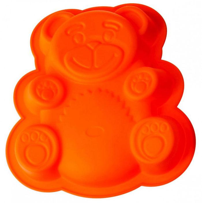 """Форма для выпечки и заморозки Regent Inox """"Медвежонок"""" выполнена из силикона и предназначена для изготовления выпечки, желе и др. С помощью формы в виде забавного мишки любой день можно превратить в праздник и порадовать детей. Оригинальный способ подачи изделий не оставит равнодушными родных и друзей.   Силиконовые формы выдерживают высокие и низкие температуры (от -40°С до +230°С). Они эластичны, износостойки, легко моются, не горят и не тлеют, не впитывают запахи, не оставляют пятен. Силикон абсолютно безвреден для здоровья.   Не используйте моющие средства, содержащие абразивы. Можно мыть в посудомоечной машине. Подходит для использования во всех типах печей.    Формы для выпечки и заморозки """"Regent Inox"""" - отличный подарок! Они удобны и необходимы любой хозяйке! Характеристики:  Материал: силикон. Общий размер формы: 26 см х 23,5 см х 4 см. Размер упаковки: 27 см х 37 см х 4,5 см. Изготовитель: Италия. Артикул: 93-SI-FO-20."""