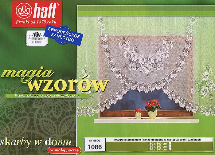 Гардина Haft, на ленте, цвет: белый, высота 170 см. 297260297260Воздушная гардина Haft, изготовленная из полиэстера белого цвета, станет великолепным украшением любого окна. Оригинальный цветочный рисунок и нежный орнамент привлечет к себе внимание и органично впишется в интерьер комнаты. В гардину вшита шторная лента. Характеристики:Материал: 100% полиэстер. Размер упаковки:37 см х 28 см х 3 см. Цвет: белый. Артикул: 297260.В комплект входит: Гардина - 1 шт. Размер (Ш х В): 300 см х 170 см. Текстильная компания Haft имеет богатую историю. Основанная в 1878 году в Польше, эта фирма зарекомендовала себя в качестве одного из лидеров текстильной промышленности в Европе. Еще в начале XX века фабрика Haft производила 90% всех текстильных изделий в своей стране, с годами производство расширялось, накопленный опыт позволял наиболее выгодно использовать развивающиеся технологии. Главный ассортимент компании - это тюль и занавески. Haft предлагает готовые решения дляваших окон, выпуская готовые наборы штор, которые остается только распаковать и повесить. Модельный ряд отличает оригинальный дизайн, высокое качество. Занавески, шторы, гардины Haft долговечны, прочны, практически не сминаемы, они не притягивают пыль и за ними легко ухаживать.Вся продукция бренда Haft выполнена на современном оборудовании из лучших материалов.