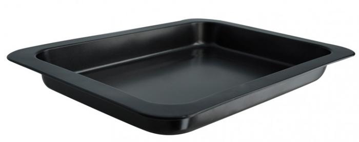 Противень глубокий Regent Inox Easy, 42 см х 32 см х 5 см93-CS-EA-2-03Противень Regent Inox Easy выполнен из высококачественной углеродистой стали и снабжен антипригарным керамическим покрытием, что обеспечивает ему прочность и долговечность.Противень равномерно и быстро прогревается, что способствует лучшему пропеканию пищи. Его легко чистить. Готовая выпечка без труда извлекается.Противень подходит для использования в духовке с максимальной температурой 250°С.Перед каждым использованием противень необходимо смазать небольшим количеством масла. Чтобы избежать повреждений антипригарного покрытия, не используйте металлические или острые кухонные принадлежности. Можно мыть в посудомоечной машине. Характеристики:Материал: углеродистая сталь, керамика. Размер противеня с бортиками: 42 см х 32 см х 5 см. Размер противеня без бортиков: 35,5 см х 25 см х 5 см. Размер упаковки: 44 см х 34 см х 6 см. Изготовитель: Италия. Артикул: 93-CS-EA-2-03.