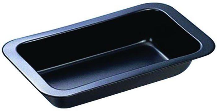 Форма для выпечки Regent Inox Easy, прямоугольная93-CS-EA-2-04Форма для выпечки Regent Inox Easy выполнена из высококачественной углеродистой стали и снабжена антипригарным керамическим покрытием, что обеспечивает форме прочность и долговечность.Форма равномерно и быстро прогревается, что способствует лучшему пропеканию пищи. Данную форму легко чистить. Готовая выпечка без труда извлекается из формы.Форма подходит для использования в духовке с максимальной температурой 250°С.Перед каждым использованием форму необходимо смазать небольшим количеством масла. Чтобы избежать повреждений антипригарного покрытия, не используйте металлические или острые кухонные принадлежности. Можно мыть в посудомоечной машине. Характеристики:Материал: углеродистая сталь, керамическое покрытие.Цвет: черный.Внешний размер формы (Д х Ш х В): 25,5 см х 14,5 см х 6 см.Артикул: 93-CS-EA-2-04.
