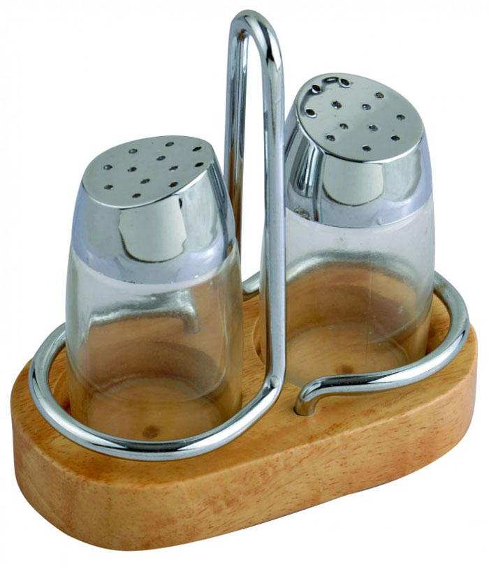Набор для специй Aroma: солонка и перечница. 93-DE-AR-1893-DE-AR-18Набор Linea Aroma состоит из солонки и перечницы на подставке. Предметы набора изготовлены из металла, стекла и пластика. Солонка и перечница легки в использовании: стоит только перевернуть емкости, и вы с легкостью сможете поперчить или добавить соль по вкусу в любое блюдо.Надежная точечная спайка металлических частей обеспечивает прочность и долговечность изделий.Оригинальный дизайн, эстетичность и функциональность набора позволят ему стать достойным дополнением к кухонному инвентарю. Характеристики:Материал: пластик, металл, стекло. Высота емкости: 8 см. Диаметр основания: 4 см. Размер подставки: 11,5 см х 13 см х 6 см Размер упаковки: 12,5 см х 9 см х 7 см. Артикул: 93-DE-AR-18.