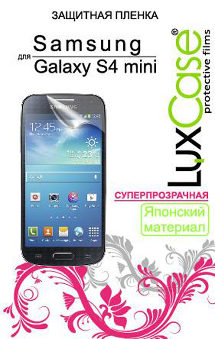 цена на Luxcase защитная пленка для Samsung Galaxy S4 mini i9190, суперпрозрачная