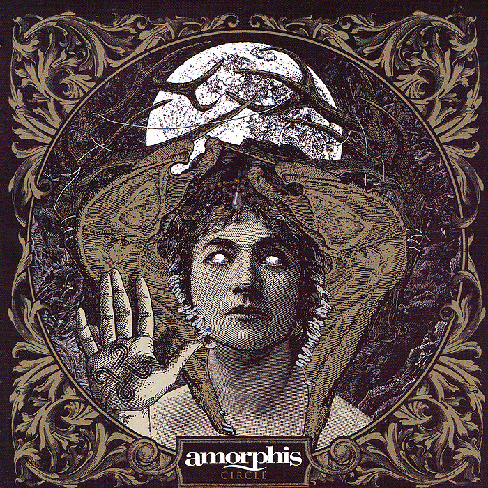 Amorphis Amorphis. Circle amorphis amorphis under the red cloud 2 lp