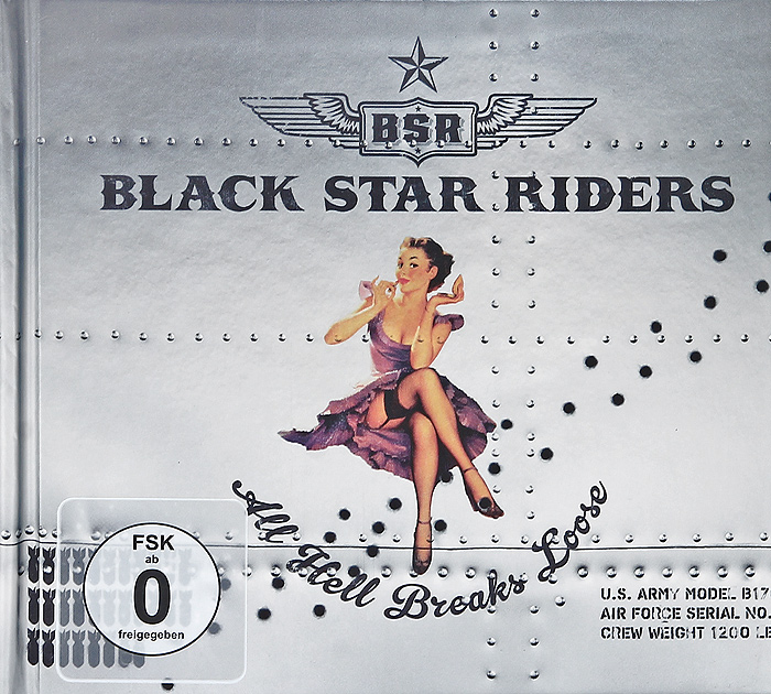 Black Star Riders Black Star Riders. All Hell Breaks Loose (CD + DVD) cd ac dc highway to hell special edition digipack