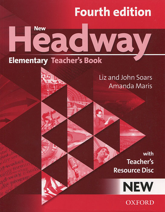 New Headway: Elementary Teacher's Book (+ CD-ROM) ideal lux садово парковый светильник ideal lux cima pt2