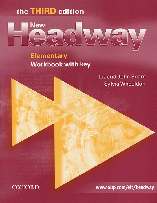 New Headway: Elementary Workbook with Key цена 2017