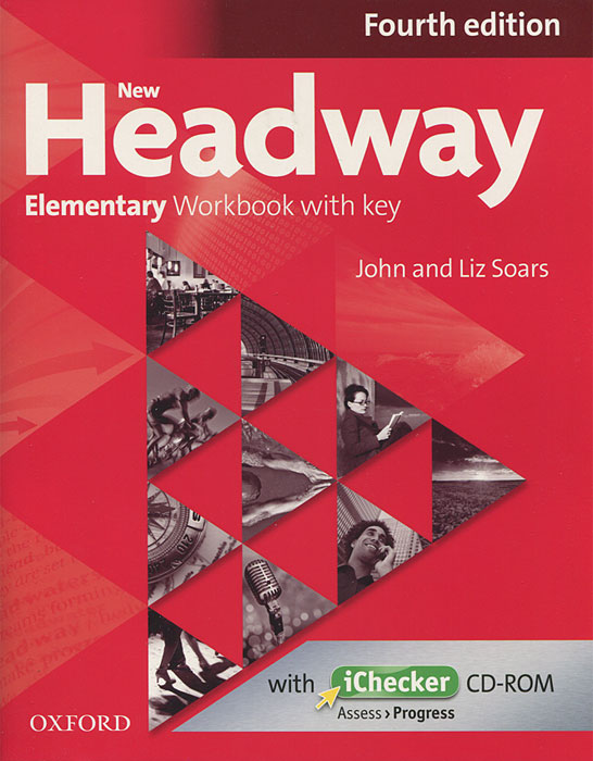 Фото New Headway: Elementary Workbook with Key (+ CD-ROM)
