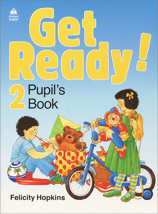 Get Ready!: Pupil's Book Level 2 цена