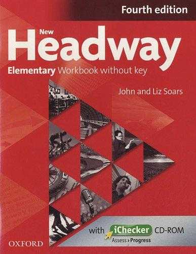 New Headway Elementary: Workbook without Key (+ CD-ROM) objective first 4 edition workbook with answers cd rom