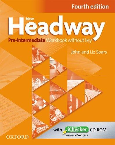 New Headway Pre-intermediate: Workbook without Key (+ CD-ROM) new total english intermediate workbook with key cd