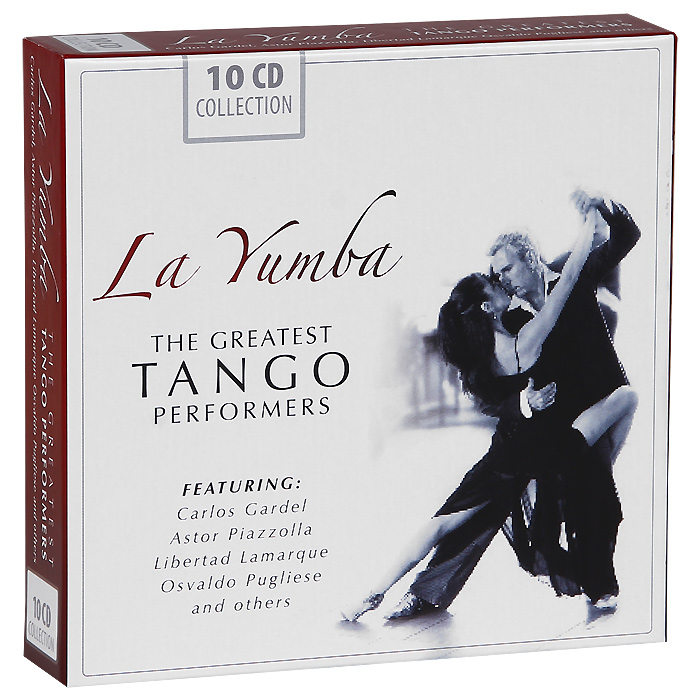 La Yumba. The Greatest Tango Performers (10 CD)