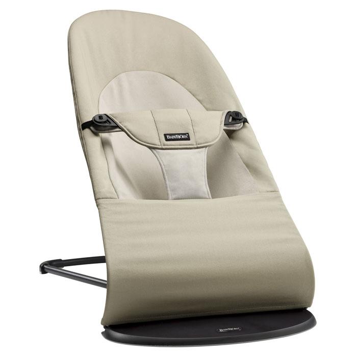 Кресло-шезлонг BabyBjorn Balance Soft, цвет: бежевый кресла качалки шезлонги babybjorn кресло шезлонг bliss mesh