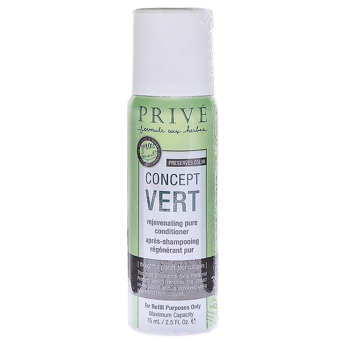Prive Флакон для кондиционера Concept Vert, для волос, 75 мл prive флакон для шампуня concept vert для волос 75 мл