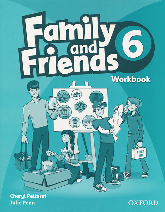 Family and Friends 6: Workbook