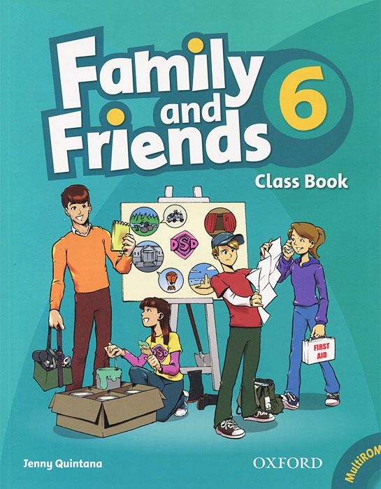 Family and Friends 6: Classbook (+ CD-ROM) diy colorful wooden family and friends birthday calendar