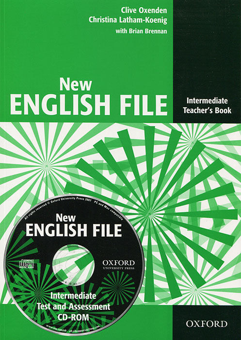 New English File Intermediate: Teacher's Book (+ CD-ROM) mackie g link intermediate wook book