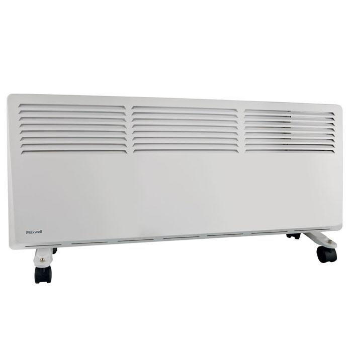 Maxwell MW-3474(W) радиаторMW-3474(W)Мощный радиатор Maxwell MW-3474 предназначен для обогрева больших помещений. При этом он достаточно компактен, что удобно при эксплуатации устройства. Данная модель оснащается колесиками. Однако вы всегда можете снять колесики и повесить радиатор на стену при помощи специальных креплений. По личному усмотрению можно отрегулировать температуру нагрева радиатора – она будет поддерживаться встроенным термостатом. Радиатор отличается наличием нескольких степеней защиты, благодаря чему за безопасность использования данной модели вы можете не переживать.Электропитание: 220-240В ~ 50 Гц