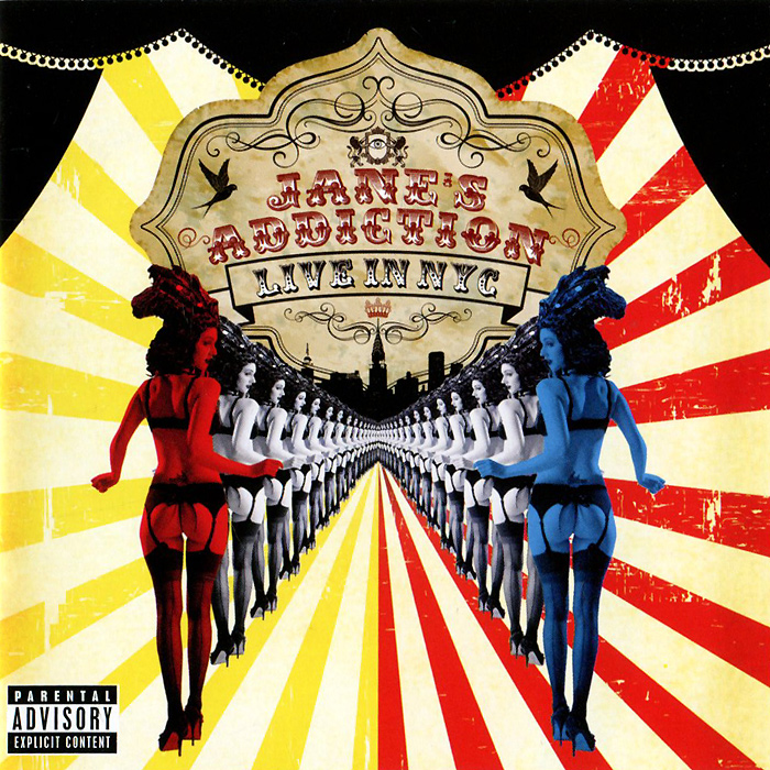 Jane's Addiction Jane's Addiction. Live In NYC jane s addiction jane s addiction live in nyc cd dvd