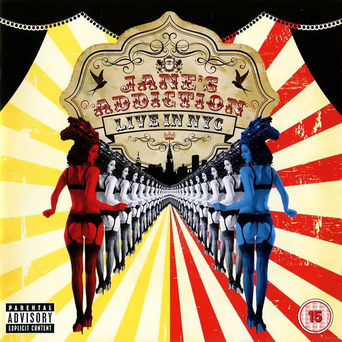 Jane's Addiction Jane's Addiction. Live In NYC (CD + DVD) jane s addiction jane s addiction live in nyc cd dvd