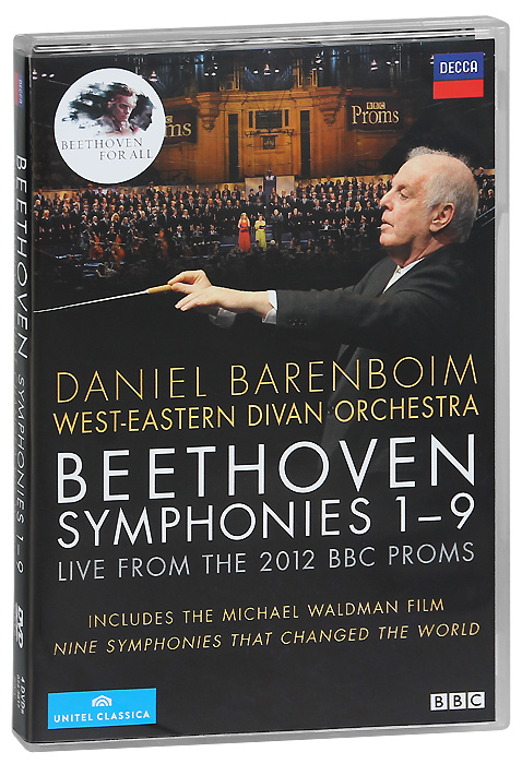 Beethoven: Symphonies 1-9 (4 DVD) major ii brown