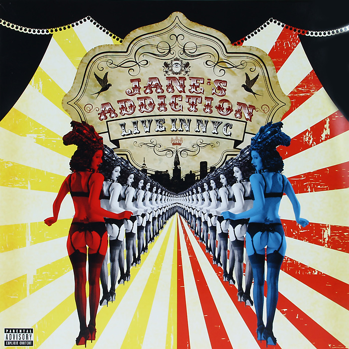 Jane's Addiction Jane's Addiction. Live In NYC (2 LP) jane s addiction jane s addiction live in nyc cd dvd