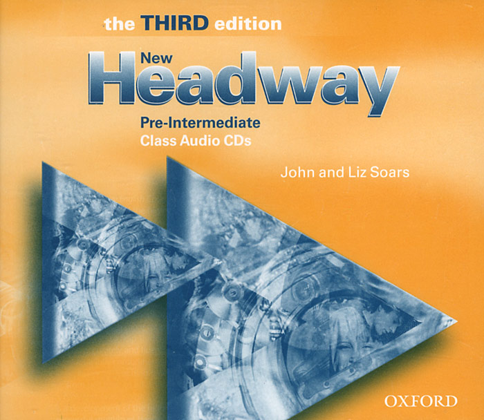 New Headway: Pre-Intermediate (аудиокурс на 3 CD) enterprise plus grammar book pre intermediate
