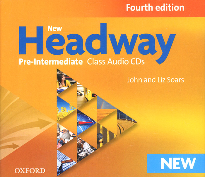 New Headway: Pre-Intermediate (аудиокурс на 3 CD) new headway pre intermediate workbook without key cd rom