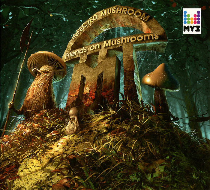 Infected Mushroom Infected Mushroom. Friends On Mushrooms mushroom stud puzzle 296pcs
