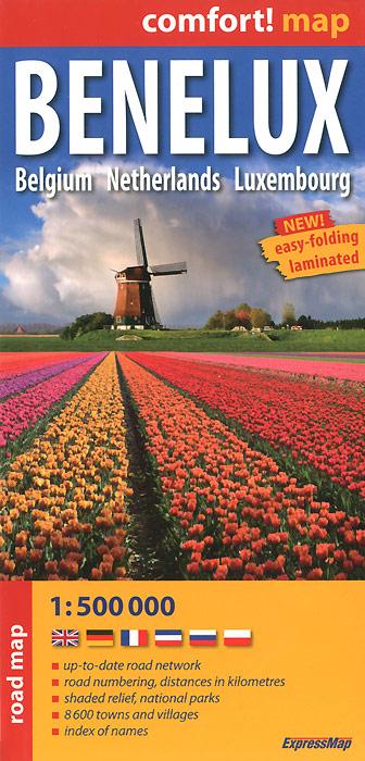 Benelux: Belgium: Netherlands: Luxembourg: Road Map