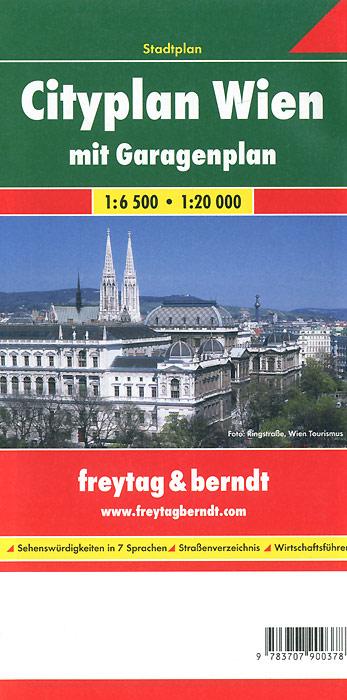 Cityplan Wien mit Garagenplan: Stadtplan riesenplan wien stadtplan