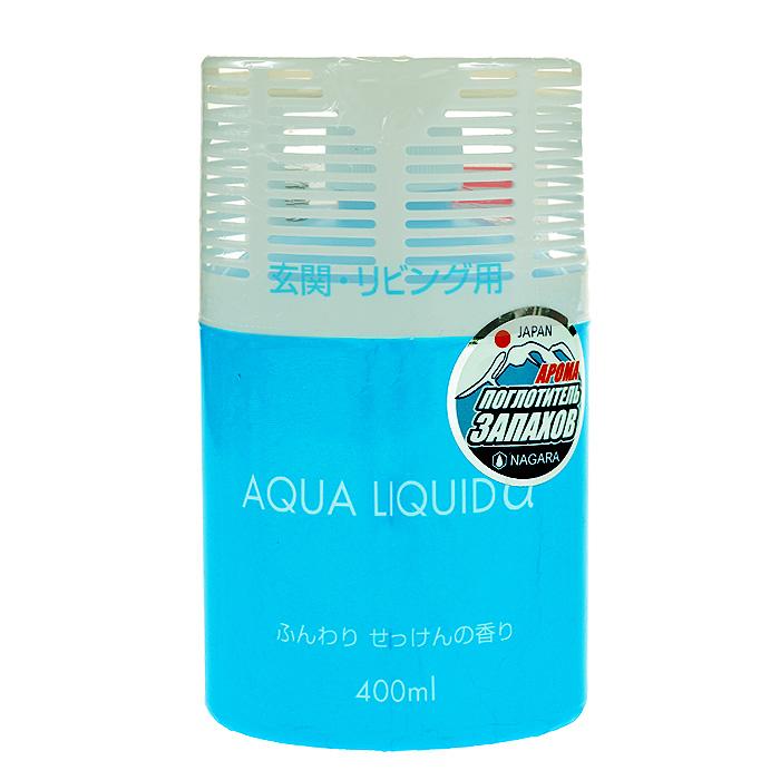 Освежитель воздуха для коридоров и жилых помещений Aqua liquid Мыло, 400 мл автомобильные ароматизаторы chupa chups ароматизатор воздуха chupa chups chp801