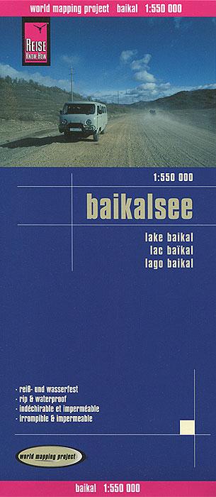 Baikalsee. Карта